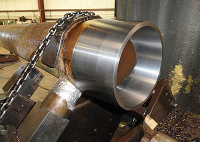 OD and ID Pipe Counterbore